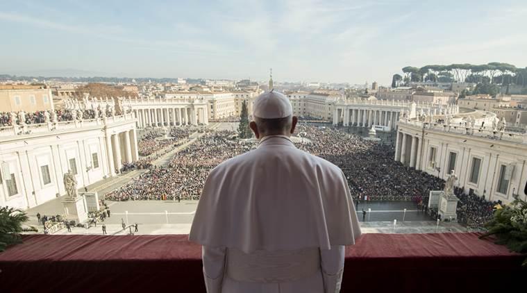 APTOPIX Vatican Christmas